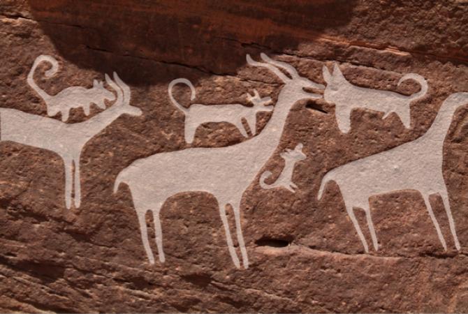 그림8_개들이 가젤을 공격하는 장면이다. - '인류학적 고고학 저널' 제공